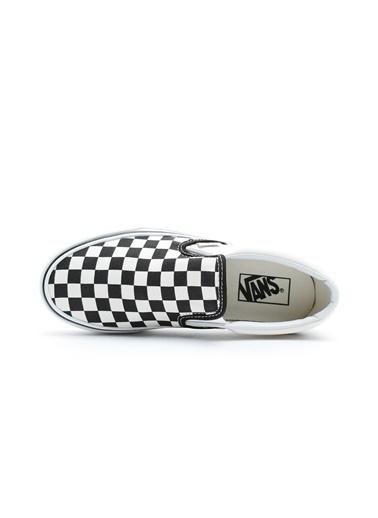 Vans Vans UA Classic Damalı Platformlu Sneaker Siyah